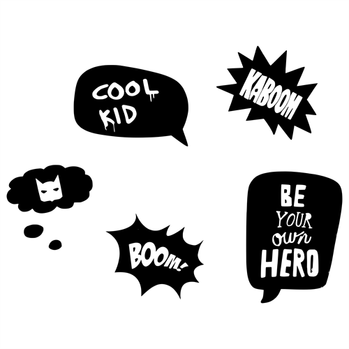 Kapow Stickers -  sampak